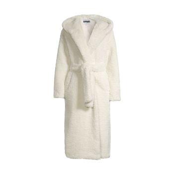 Пальто-халат Linda из искусственной овчины APPARIS