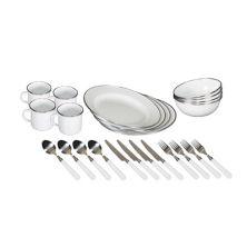 Stansport Deluxe 24-шт. Набор эмалированной посуды Stansport