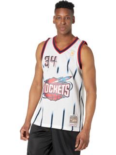 NBA Swingman Jersey Rockets 96-97 Хаким Оладжувон Mitchell & Ness