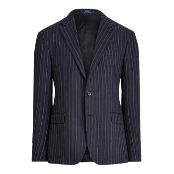 Полосатый пиджак в полоску Ralph Lauren