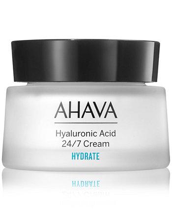 Крем с гиалуроновой кислотой 24/7 AHAVA