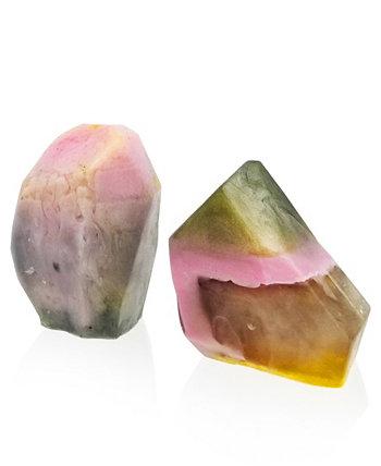 Glow Gems Набор из 2 натуральных мыл ручной работы - герани и грейпфрута SWAY