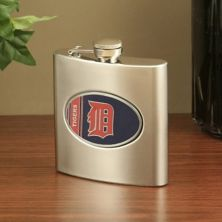 Detroit Tigers Stainless Steel Flask Unbranded