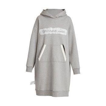 Reversible Logo Sweatshirt Dress MM6 Maison Margiela