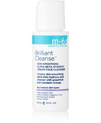 Brilliant Cleanse - Разглаживающий кожу разглаживающий кожу альфа-бета-гидрокси крем для лица, 2 унции M-61 by Bluemercury