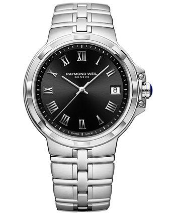Мужские швейцарские часы из нержавеющей стали Parsifal 41 мм Raymond Weil