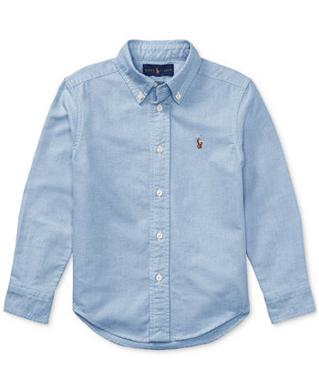 Оксфордская рубашка Little Boys Blake Ralph Lauren
