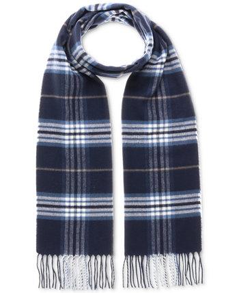 Мужской классический клетчатый шарф V. Fraas