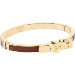 Leather Buckle Bangle Bracelet Ralph Lauren