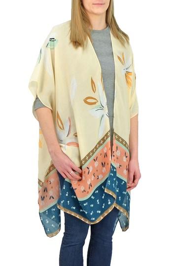 Кимоно с цветочной каймой Save The Ocean