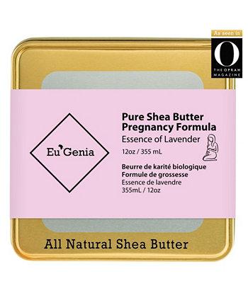 Универсальный увлажняющий крем с маслом ши для лица, тела и волос от растяжек Eu'Genia Shea