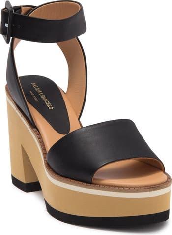 Сандалии на платформе и блочном каблуке Faiana Paloma Barcelo