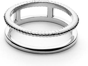 Кольцо с краем монеты Shinola