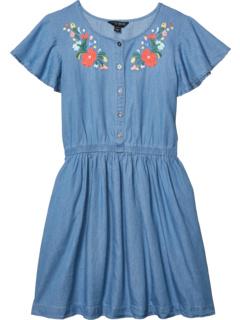 Джинсовое платье с вышивкой Thelma (Big Kids) Lucky Brand Kids