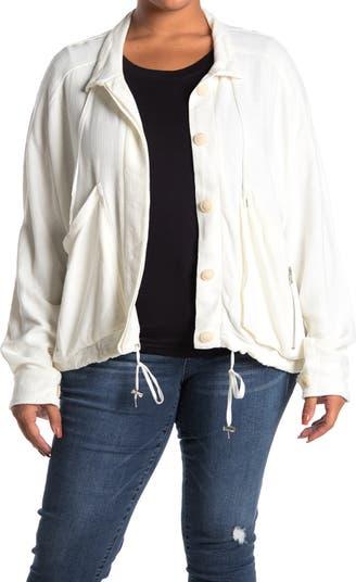 Drawstring Neck Pullover Sweater BLANKNYC