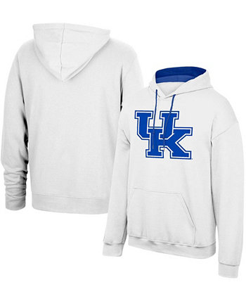 Толстовка с капюшоном мужская белая Kentucky Wildcats Foundation Big Logo 3.0 Top of the World