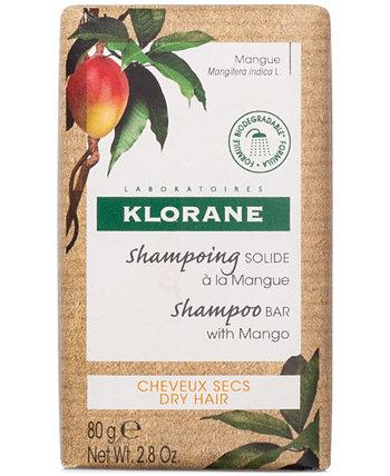 Питательный шампунь-батончик с манго Klorane