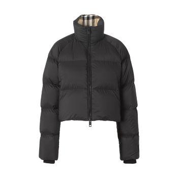 Укороченная куртка-пуховик Alsham Burberry