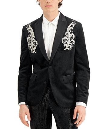 Мужской пиджак с вышивкой INC Spencer, созданный для Macy's INC International Concepts