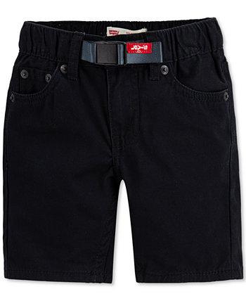 Little Boys 502 ™ обычные шорты из твила Levi's®