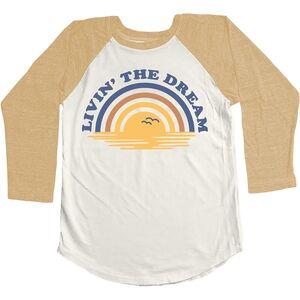 Livin' The Dream 3/4-Sleeve T-Shirt Tiny Whales