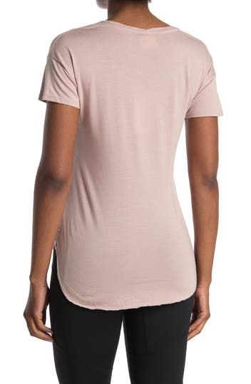 Crucial Lotus High/Low Pocket T-Shirt Maaji