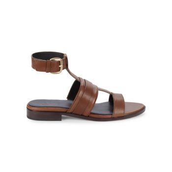 Кожаные сандалии Elva 27 EDIT