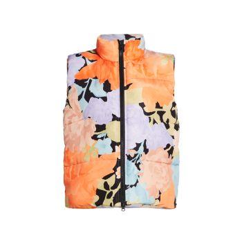 Разноцветный жилет с цветочным принтом Leonor STINE GOYA