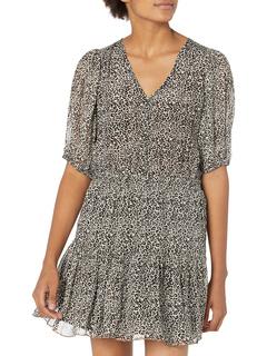 Saskia Short Sleeve Dress Velvet by Graham & Spencer