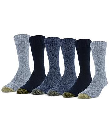 Мужские носки Hudson Crew из шести пар Gold Toe