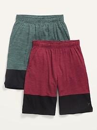 Баскетбольные шорты с сеткой Go-Dry, 2 шт., Для мальчиков Old Navy