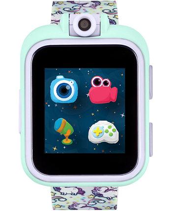 Дети PlayZoom Радуга Единорог Ремешок с сенсорным экраном Smart Watch 42x52mm ITouch