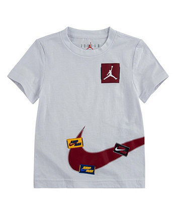 Big Boys Jump Man Wrap Logo Graphic T-shirt Jordan