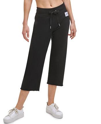 Women's Raw Hem Capri Pants Calvin Klein