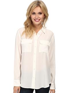 Тонкая фирменная блуза EQUIPMENT