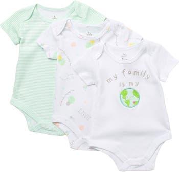 Пастельные и графические боди - 3 шт. В упаковке Baby Starters