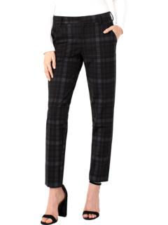 Трикотажные брюки Kelsey Novelty в клетку медь / черный тартан Liverpool
