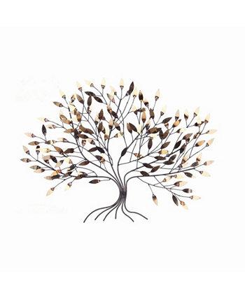 """Оригинальное настенное произведение искусства Lucky Tree Wave, 30 """"x 40"""" Peterson Artwares"""