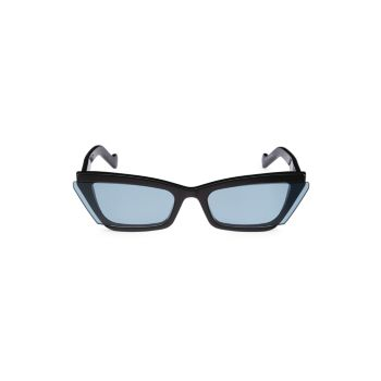 """Солнцезащитные очки Inside Story 67 мм """"кошачий глаз"""" FENTY"""