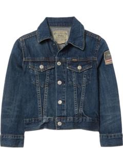 Куртка из хлопкового денима (для маленьких и больших детей) Ralph Lauren