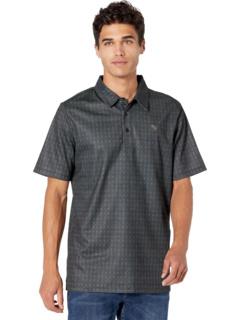 Рубашка-поло с короткими рукавами и географическим принтом P9P9314 Rock and Roll Cowboy