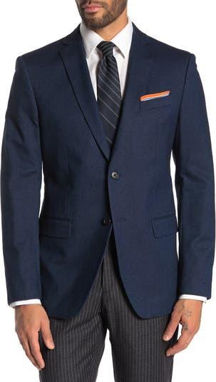 Blue Birdseye Two Button Notch Lapel Jacket John Varvatos Star USA