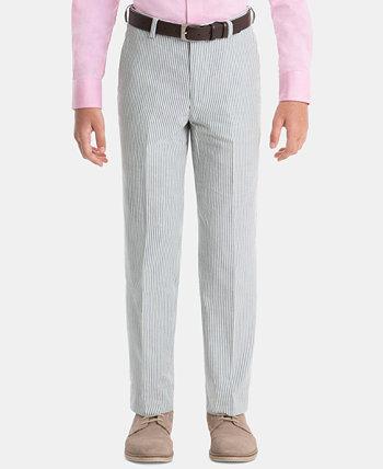 Хлопковые классические брюки для маленьких мальчиков Ralph Lauren