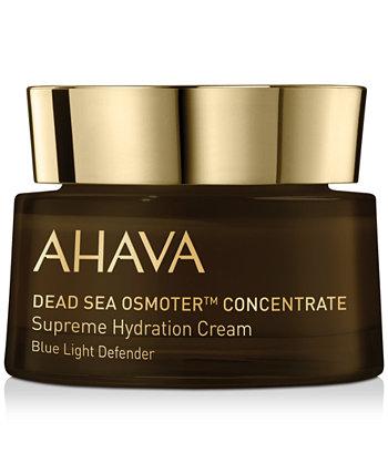 Концентрат Осмотера Мертвого моря Высший увлажняющий крем Blue Light Defender, 1,7 унции AHAVA