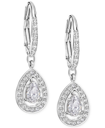 Серебряные серьги с кристаллами Pavé © Drop Swarovski