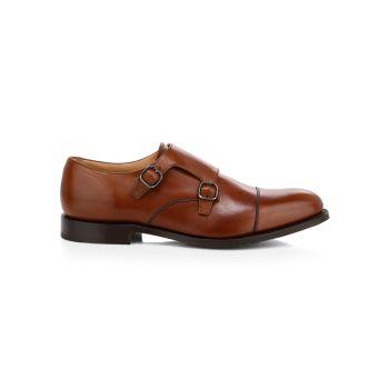 Кожаные туфли Detroit Monk с ремешком Church's