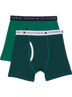 Комплект из 2 трусов-боксеров в полоску (для детей младшего и школьного возраста) Tommy Hilfiger Kids