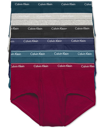 Мужские трусы из хлопка, 6 шт. В упаковке Calvin Klein