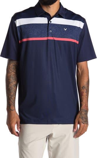 Рубашка-поло с эффектом потрескавшейся текстуры на груди CALLAWAY GOLF
