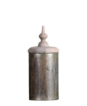 Крышка для вазы Aladin в винтажном стиле с состаренным цинком Lota в винтажном стиле Villa2